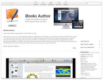 APPLE's iBook Author, New tool for Entrepreneurs to Easily