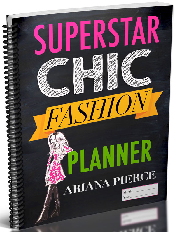 Superstar Chic Fashion Journal cover