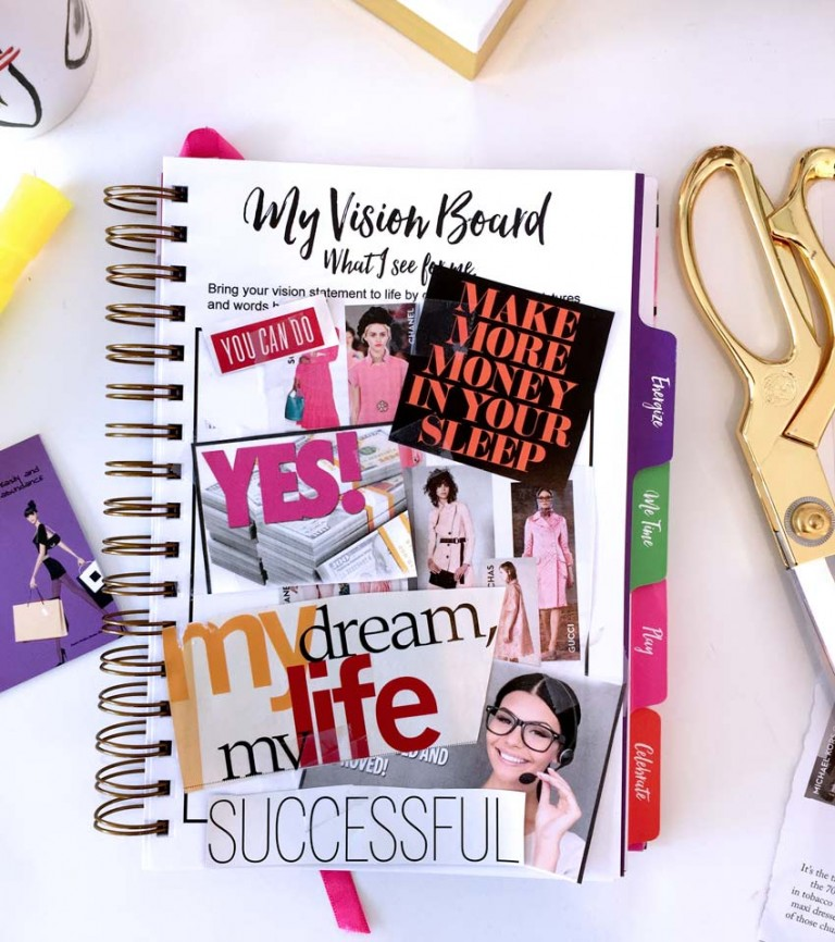 Journal Visionboard