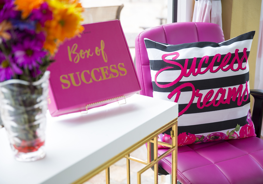 Success Dreams Pillow Cover thumbnail